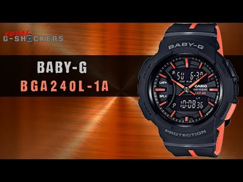 Casio BABY-G Black and Orange BGA240L-1A | Top 10 Things Watch Review