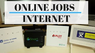 Best Internet for Online Jobs - Prepaid Wifi ( Globe / PLDT / SMART) - Converge / Fiber