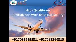 Book Hi-Fi ICU Setup Air Ambulance in Delhi at Low-Fare by King