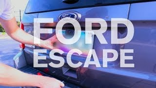 Wireless Back Up Camera Installation - Ford Escape