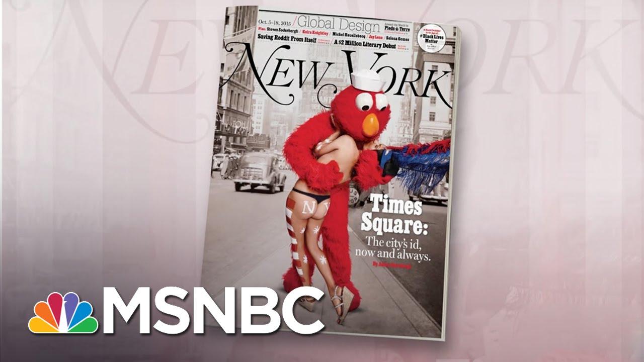Evil Cookie Monster, Bad Elmo: Times Square Now | Morning Joe | MSNBC thumbnail