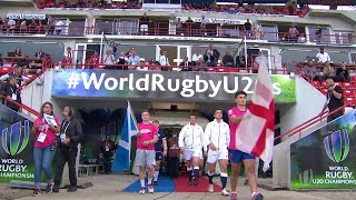World Rugby U20 Highlights, Inghilterra-Scozia 35-10