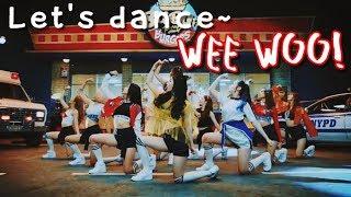 PRISTIN _ WEE WOO Kpop Dance Workout by sarahkaypop