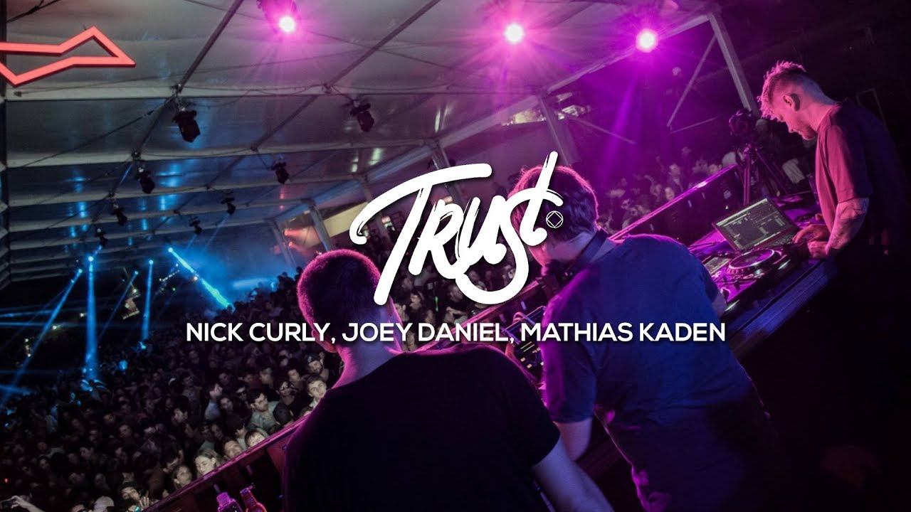 Nick Curly, Joey Daniel, Mathias Kaden - Live @ TRUST Chile by 5unset 2018