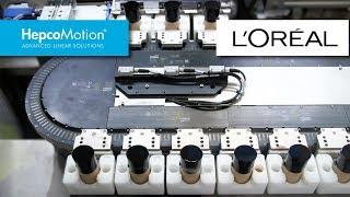 Application GFX en Emballage Cosmétique pour L'Oréal