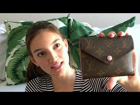 Louis Vuitton Victorine Wallet – Review, Measurements, and Layout!