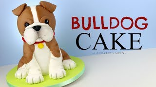 How To Make A 3D Bulldog Cake - Laura Loukaides