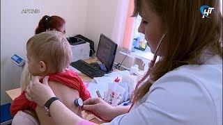 Уменьшается число детей с внебольничной пневмонией, получающих стационарную помощь