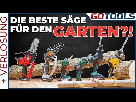 Die beste Säge für deinen Garten? Ketten-, Ast-, und Säbelsägen im Vergleich | inkl. Verlosung