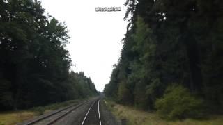 preview picture of video 'Neues Schnittprogramm -- Lokführer: Wiesau nach Reuth'