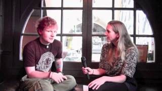 Ed Sheeran Shares First Impression of Taylor Swift + Touring Shenanigans