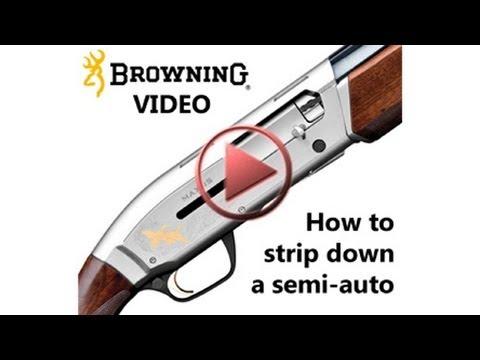 How to strip down a semi-auto
