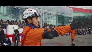大阪市消防出初式にドローン部隊として参加