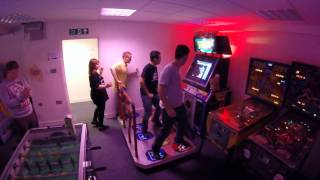 preview picture of video '4 Player Pump it up - Astro City, Southend - 25th Oct 2014'