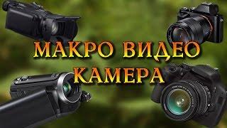 Макро видео. Камера