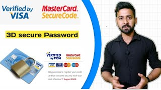 What is Verified by Visa and MasterCard SecureCode | 3d Secure Service