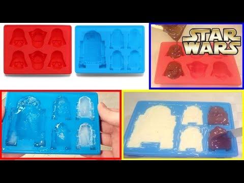 Star Wars Silicone Molds – Ο Πόλεμος των Άστρων σε παγάκια, σοκολατάκια, γρανίτες