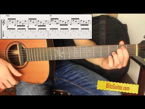 Spanish Chord Progression | Fingerstyle Guitar Lesson - Guitar Tutorial