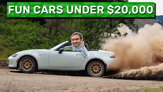 Here Are My 10 Favorite Cool Cars for Under $20,000