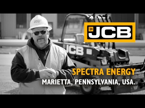 JCB Teletruk at Spectra Energy - USA