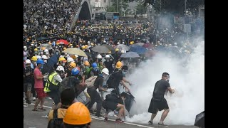 我是香港人, 我見到612當天是暴動!
