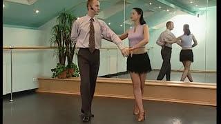 Смотреть онлайн Танец ча-ча-ча схема базовых шагов для начинающих