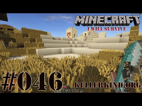 Minecraft: I will survive #046 - Explosiver Wüstentempel ★ EmKa plays Minecraft [HD|60FPS]