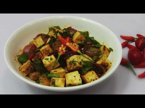 Paneer Chili Recipe – With Thai Flavors
