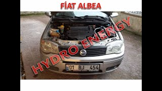 Fiat Albea 1.3 dizel hidrojen yakıt tasarruf sistem montajı