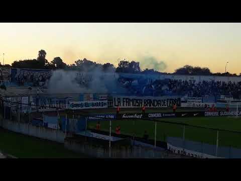 """""""COPA SUDAMERICANA 2018 CERRO 2 SPORT ROSARIO 0 RECIVIMIENTO  CLUB ATLETICO CERRO"""" Barra: Los Villeros • Club: Cerro"""