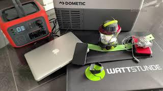 Ausdauer Test Dometic Kompressor Kühlbox  VS POWEROAK PS6S  BLUETTI AC50s
