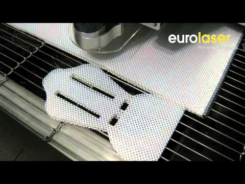 Seat cushion made of spacer fabrics | Laser cutting