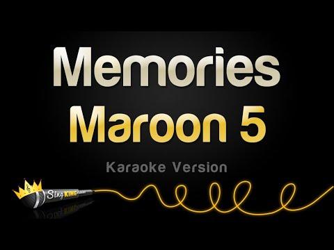 Maroon 5 - Memories (Karaoke Version)