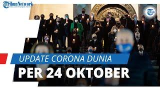 Update Corona Dunia per 24 Oktober 2021: Total 244 Juta Terinfeksi, Indonesia Posisi 82 Kasus Aktif