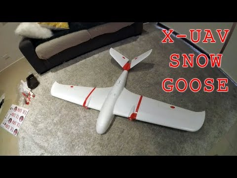 »-xuav-snow-goose-mini-goose--unboxing--dry-assembly