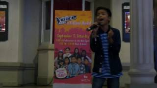 Alvin of The Voice Kids Philippines Takes on Regine Velasquez