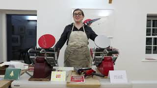 Printmaking at the Mill Tye Gallery with Hannah Farthing