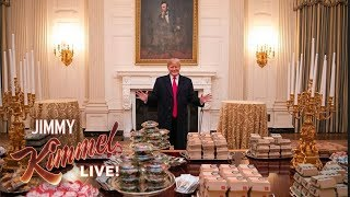 "Trump Eats ""Hamberders"" While Government Remains Shut Down"
