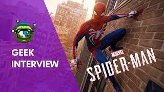 Marvel's Spider-Man: Interview With Insomniac Games' James Stevenson | Geek Interview