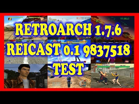 Reicast Naomi Retroarch Tutorial - Linux x64 pt2 - 4pr0p02
