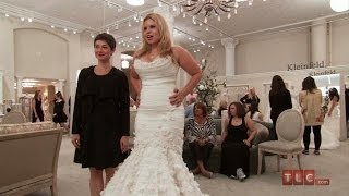 Wedding Dress Tips - Mermaid Dress With Floral Appliques | Say Yes To The Dress