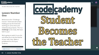 Codecademy Python Answers: Students Becomes the Teacher / Learn Python with Codecademy