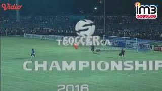 Persela Lamongan Vs Arema Cronus 02 Highlights TSC 18 Juli 2016