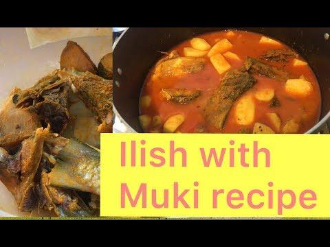Ilish with Muki recipe
