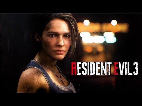RESIDENT EVIL 3 Remake - Announce Trailer @ 1080p (60ᶠᵖˢ) ᴴᴰ ✔