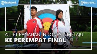Atlet Panahan Indonesia, Tundukan Peringkat 8 Dunia dari AS di Olimpiade Tokyo