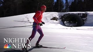 Biathlete Lowell Bailey Chases Olympic History | NBC Nightly News