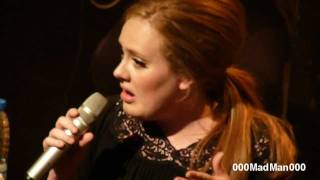 Adele - 07. If it hadn't been for Love - Full Paris Live Concert HD at La Cigale (4 Apr 2011)