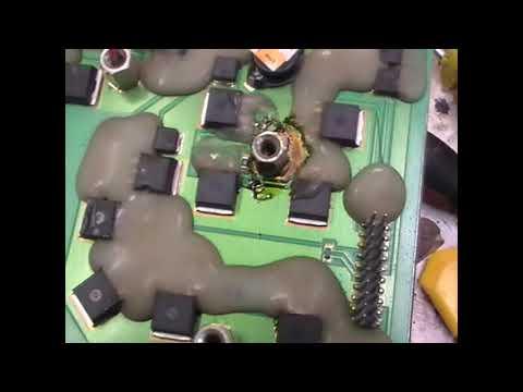 Ремонт сварочного инвертора GYSMI-165.  Пропал ток.