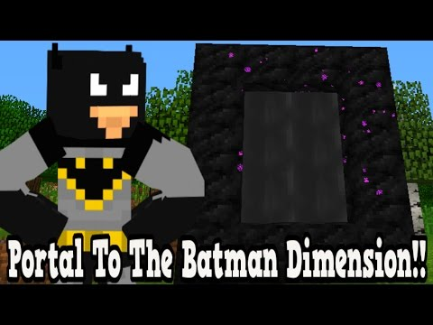 Minecraft How To Make A Portal To The Spiderman Dimension